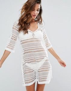 Пляжное платье New Look - Белый