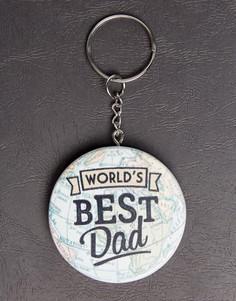 Брелок для ключей с надписью Worlds Best Sass & Belle - Мульти