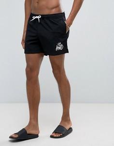 Черные шорты для плавания Kings Will Dream - Черный