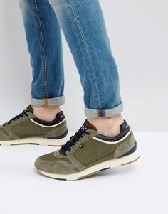 Кроссовки цвета хаки Tommy Hilfiger Leeds - Зеленый
