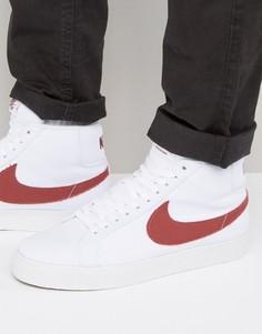 Белые кроссовки Nike SB Zoom 902662-169 - Белый