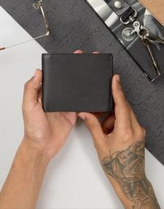 Кожаный бумажник Systvm - Черный