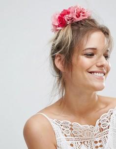 Заколка для волос с розами ASOS Wedding - Розовый