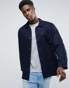 Синяя рабочая куртка Waven - Синий