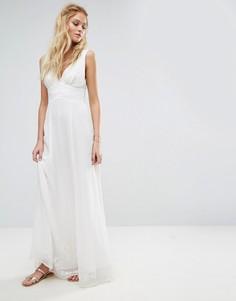 Платье макси The Jetset Diaries Melita - Белый