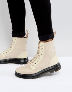 Парусиновые ботинки Dr Martens Combs - Бежевый