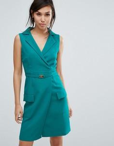 Приталенное платье Vesper - Зеленый