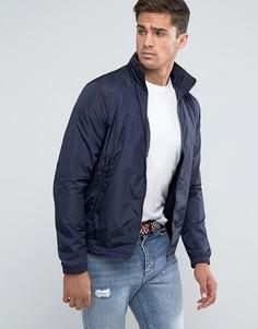 Темно-синяя куртка с капюшоном Tommy Hilfiger - Темно-синий