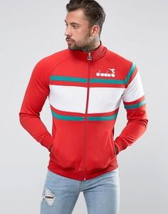 Спортивная куртка со вставками Diadora - Красный