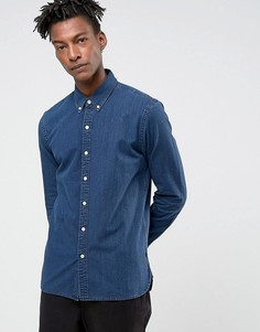 Темно-синяя джинсовая рубашка без карманов Levis - Синий Levis®