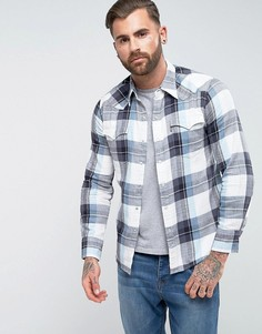 Синяя рубашка в клетку в стиле вестерн Levis Barstow - Синий Levis®
