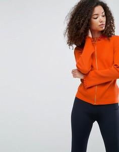 Кардиган на молнии с рукавами клеш ASOS - Оранжевый