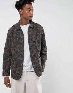Пальто с камуфляжным принтом Levis - Коричневый Levis®