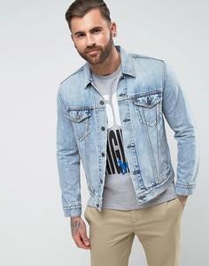 Джинсовая выбеленная куртка Levis - Синий Levis®