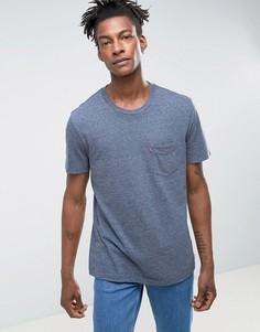 Синяя футболка с карманом Levis - Синий Levis®