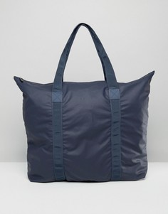 Большая сумка-тоут Rains - Темно-синий