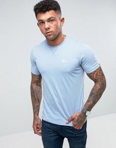 Меланжевая футболка с круглым вырезом Tokyo Laundry - Синий