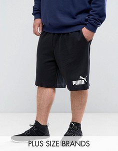 Черные трикотажные шорты Puma PLUS ESS No.1 83826101 - Черный
