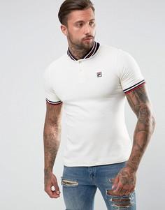 Белая бейсбольная футболка-поло Fila Vintage - Белый