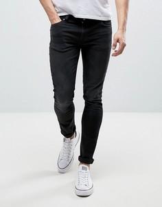 Черные джинсы скинни Nudie Jeans Co Lin Jean - Черный