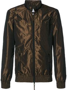 двухцветная куртка бомбер Keum