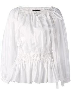 блузка со складками Rochas