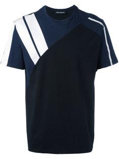 футболка с контрастными полосами Neil Barrett