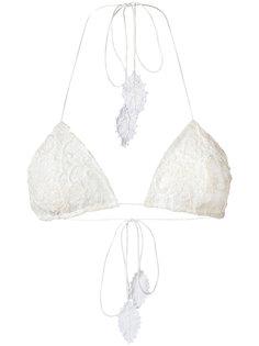 lace Célia triangle bikini top Martha Medeiros