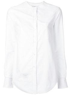 рубашка с воротником стойкой  Thom Browne