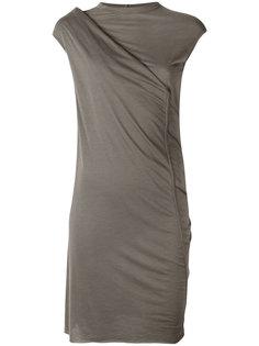 приталенное платье с драпировкой Rick Owens Lilies