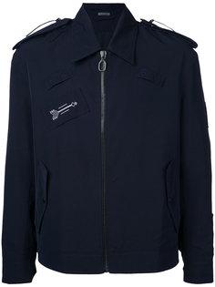 куртка с декоративной строчкой  Lanvin