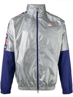 куртка-бомбер в стиле колор блок  Kappa