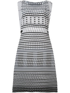 платье без рукавов с этническим принтом  Issey Miyake
