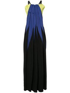 платье в складку колор-блок Issey Miyake