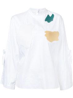 блузка с длинными рукавами с завязками  Toga