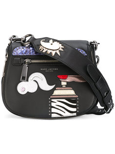 сумка-тоут с заплатками Marc Jacobs