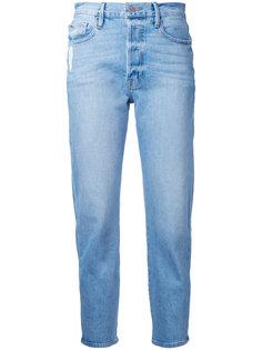 укороченные прямые джинсы Frame Denim
