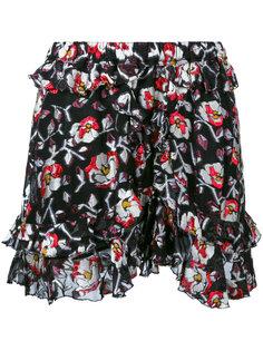 шорты с цветочным узором Isabel Marant