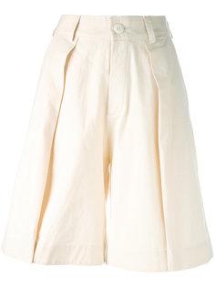 шорты со складками спереди Toogood