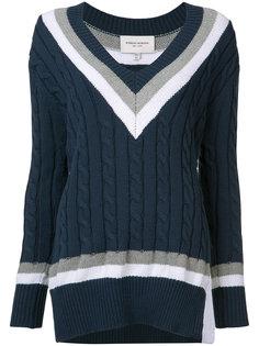 вязаный свитер с косами Public School