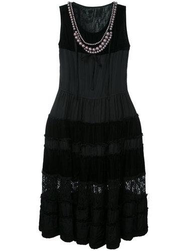 платье с жемчужным воротником-колье Comme Des Garçons Vintage