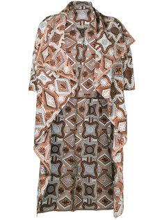 декорированное платье с запахом Comme Des Garçons Vintage