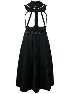платье-рубашка с рюшами Comme Des Garçons Vintage