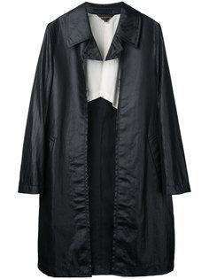 мягкое пальто Comme Des Garçons Vintage