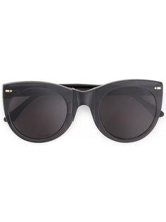 солнцезащитные очки в объемной оправе Movitra
