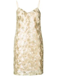 короткое вышитое платье Trina Turk