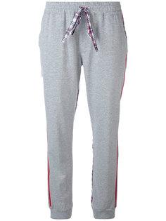 спортивные брюки с панелями в клетку Sold Out Frvr