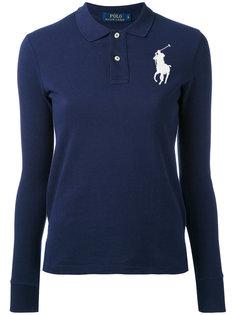 рубашка-поло с крупным логотипом Polo Ralph Lauren