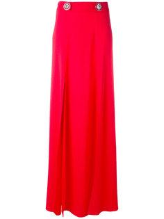 длинная юбка с фирменными бляшками Versus
