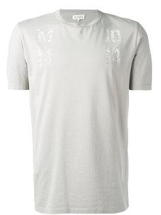 декор рованная футболка Maison Margiela